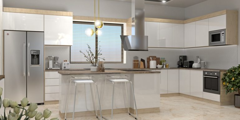 QUALITY HOMES - UNIVERSAL - 20191127 - INTERIOR 02 - LIVING ROOM AND KITCHEN