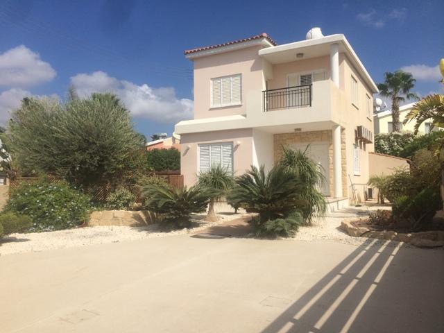 3 Bed villa – for rent Chlorakas – L0358