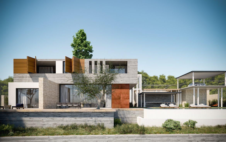 4 Bed Modern – Villa – Geroskipou